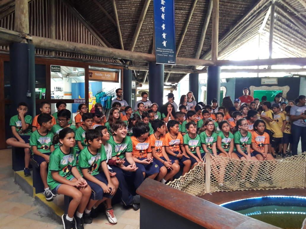 Visita Pedagógica ao  Oceanário - 4º e 5º Anos